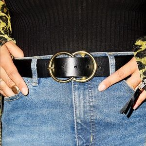 Eternity leather belt